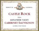 Castle Rock Cabernet Sauvignon 2004