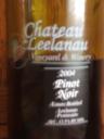 Chateau Leelanau Pinot Noir 2004