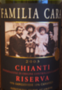 Familia Cara Chianti Riserva2003