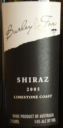 Burley Fox Shiraz 2005
