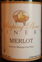 Sleeping Bear Winery Merlot