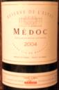 Reserve de L'Estey Medoc 2004