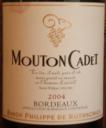 Mouton Cadet Bordeaux 2004