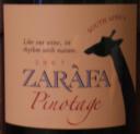 Zarafa Pinotage 2007