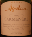 Agustinos Carmenere 2006