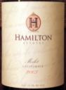 Hamilton Merlot 2003
