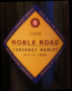 Noble Road Cabernet Merlot 2006