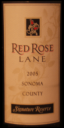 Red Rose Lane Sonoma County Signature Reserve 2005