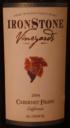 Ironstone Vineyards Cabernet Franc 2004