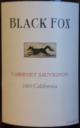 Black Fox Cabernet Sauvignon 2005