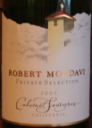 Robert Mondavi Private Selection Cabernet Sauvignon 2006