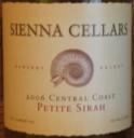 Sienna Cellars Petite Sirah 2006