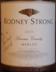 Rodney Strong Sonoma County Merlot 2004
