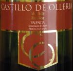 Castillo De Olleria Valencia 2007