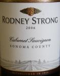 Rodney Strong Cabernet Sauvignon 2006
