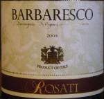 Rosati Barbaresco 2004