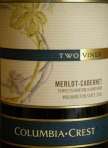 Columbia Crest Two Vines Merlot-Cabernet 2006
