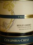 Columbia Crest Two Vines Merlot-Cabernet 2006