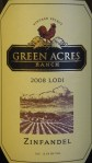 Green Acres Ranch Lodi Zinfandel 2008